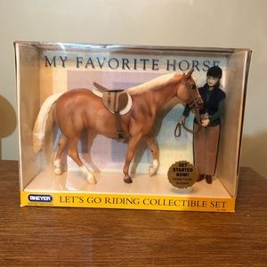 Breyer Horse #1265 Palomimo Set